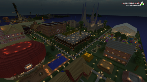 The floating town of Celzibar, near Port Townshend, primarily built by MaximumRose and seen in October 2014