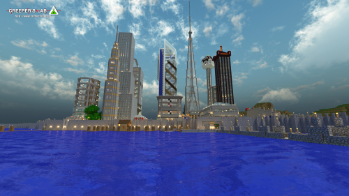 Minetropolis, founded by SorathePumpking and seen in October 2014