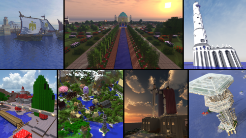 All Seven Wonders of the Creeper's Lab!