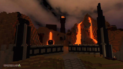 SorathePumpking's take on Mordor, near West Halfway and seen in October 2018