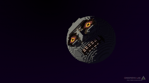 The Moon from Majora's Mask, built by Starfyredragon and seen in June 2017