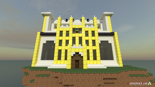A high meeting area at the Creeper Citadel, as seen in April 2021.
